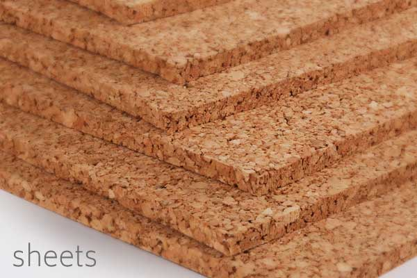cork underlayment sheets